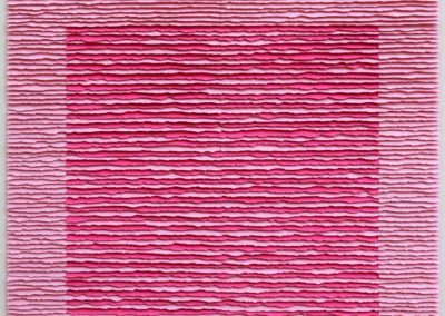 Pink square on pink background II