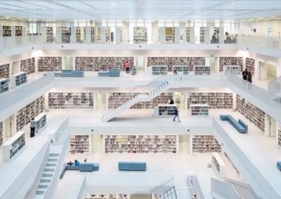 Open Space of City Library, Stuttgart