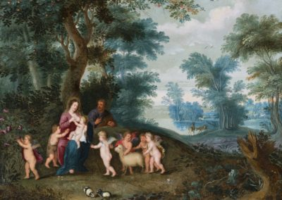 Landscape with Holy Family