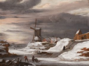 The Arts and Winters of the Dutch Golden Age