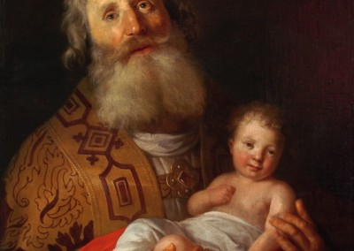 Saint Simeon with the child Jesus