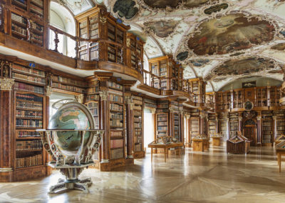 Abbey Library of Saint Gallen, Suiza