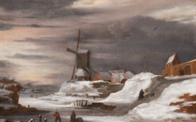 El arte y los inviernos en el Siglo de Oro holandés