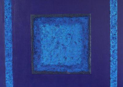 Textura azul bicolor