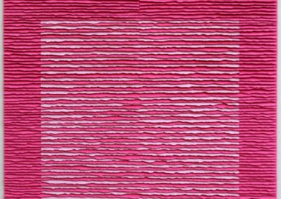 Pink square on pink background I