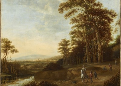Wooded Landscape with Figures