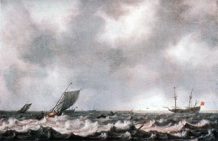 Marine Breeze with Fishing Boats