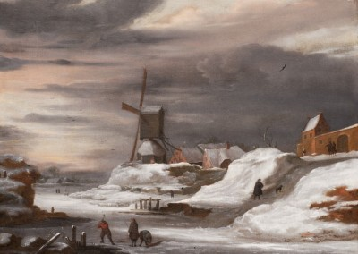 Winter Landscapes with Figures