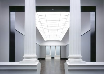 Hall with Columns. Old National Gallery, Berlin
